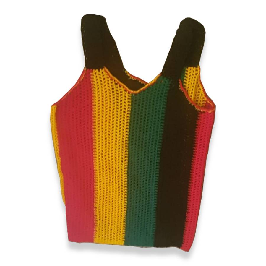 African Vest with Hat